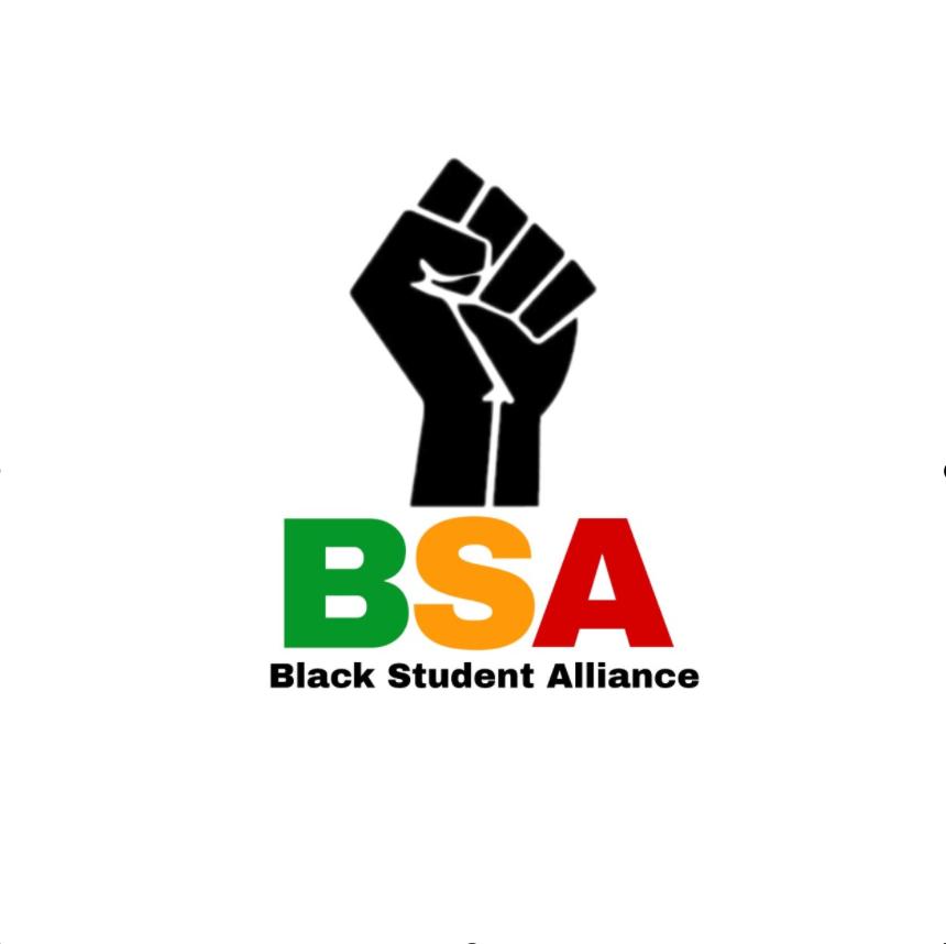 Spalding Black Student Alliance BSA log